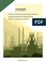 Estudio Renegociaciones Contractuales APP