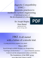 EMC-from heuristic practices to methodic system engineering - A historical review