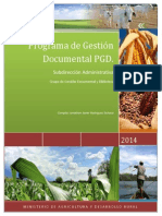 Programa de Gestion Documental Marzo 20 2015
