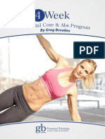 4 Week Essential Core and Abs Program