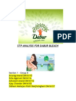 Stp Analysis for Dabur Bleach