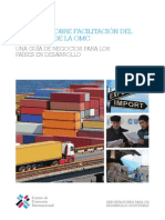 Itc Wto Trade Facilitation Agreement - A Business Guide for Developing Countries s