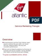 Virgin Atlantic Marketing Triangle