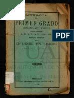 Liturgia Del Aprendiz1899 MRGLVM