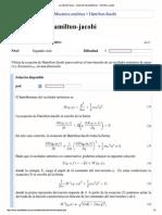 La Web de Física - Colec...Lemas - Hamilton-Jacobi