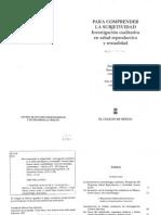 Pando, M. & Villaseor, M. Modalidades de entrevista grupal en la investigaci+¦n social; en Para Comprender la Subjetividad