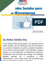 Taller Redes Sociales Para La Microempresa