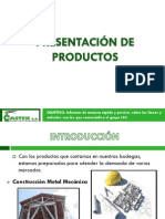 Catalogo de Productos Castek s.a.
