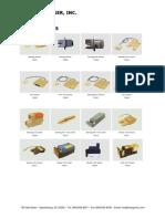 Texturing Parts List