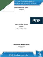 Actividad 4 ISO 9001
