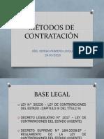 Métodos de Contratación NUEVA LEY 24-03-2015 FINAL