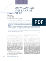 La Documentation Française - Shadow Banking