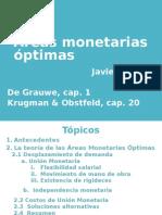 Areas Monetarias Óptimas