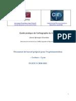 PDF Guide Pratique Orthographe 8-02-2011