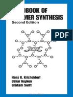 Handbook of Polymer Synthesis