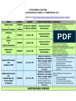 UTFPR Campus Curitiba - Calendario de Matricula 2_2015