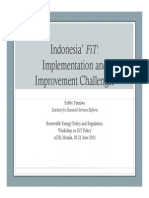 59404553 Fabby Tumiwa Indonesia FiT Implementation and Improvement Challenges