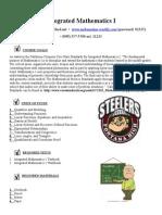 fohi 2016 - im-1 syllabus