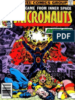 The Micronauts 10 Vol 1