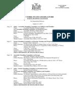 August 21, 2015 - Public Hearing Calendar