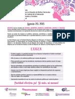 Defensa Congreso Paritario Morelos
