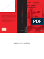 Karl Marx Antropólogo Primeras Paginas Final