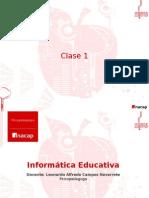 Clase 1 informatica educativa
