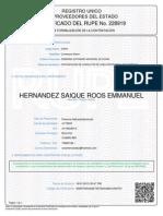 Certificado Rupe 477266