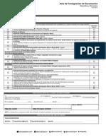 Acta de Consignacion Credito Efectivo Ene 2014 Nuevo Formato