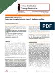 Pancreas Transplantation in Type II DM