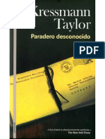 Paradero Desconocido - Kressmann Taylor