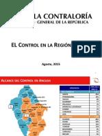 El Control en la Región Áncash - 21.08.15