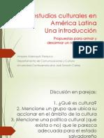 Los Estudios Culturales en C.A. Piezas iniciales de un rompecabezas.