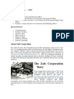 Case Study Zale Corporation