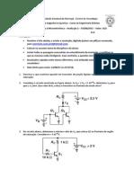 Avaliacao 2 de microeletronica