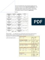 La potencia de un número es el producto de varios factores iguales a él.docx