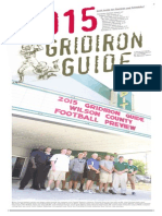Football Gridiron Guide 2015