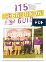 Football Gridiron Guide 2015 TC