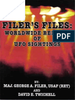 Filer's Files, Worldwide Reports of UFO Sightings - George A Filer, David E Twichell.pdf