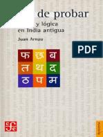 Arnau Juan - Arte de Probar - Ironia Y Logica en India Antigua