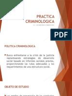 Práctica Criminológica