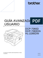 Guía Avanzada Multifuncional Brother Dcp-7065dn