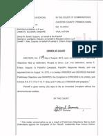 Order on CASD vs. Rhoads & Sinon and James Ellison