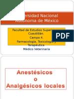 Anestesicos veterinarios