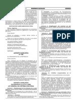 Decreto Legislativo N° 1189