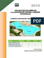Calculo de Volumen de Excavacion de Piscina