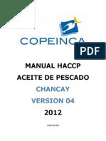 Manual Haccp  Copeinca