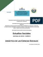 Curso 8 Estudios Sociales