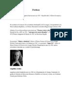 Biografias de Poetas Guatemaltecos
