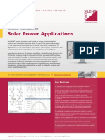 Solar Power Applications